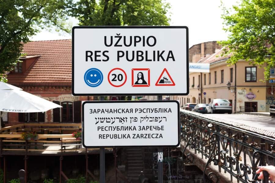 Uzupis, une République bohème à Vilnius