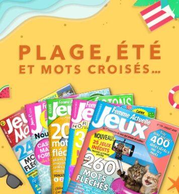 Découvrez nos magazines jeux pour passer un bel été !