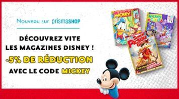 Nouveau ! Découvrez l'univers incroyable de Disney.