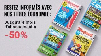 L'économie vous passionne ? Jusqu'à 4 mois d'abonnement à -50% !