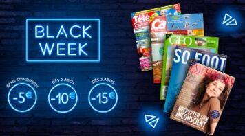 Découvrez nos offres spéciales Black Week !