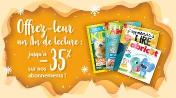 Faites leur plaisir grâce à notre sélection de magazines pour tous les âges !