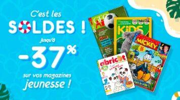 Soldes : profitez de nos abonnements jeunesse à prix réduits !