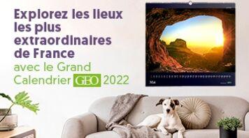 Découvrez les calendriers GEO 2022 !
