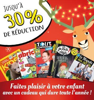 Offre de Noël : spécial presse jeunesse !
