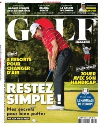 abonnement golf magazine pas cher prismashop. Black Bedroom Furniture Sets. Home Design Ideas