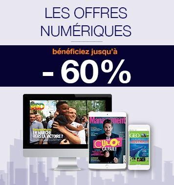 Offres abonnements numériques