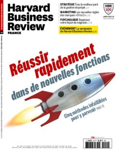 Couverture Harvard Business Review France