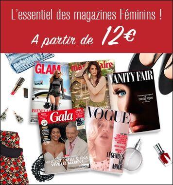 L' Essentiel des Magazines Féminins
