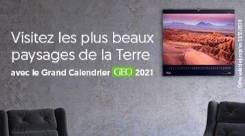 Découvrez les calendriers GEO 2021 !