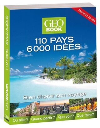 GEOBOOK 110 PAYS 6000 IDEES - 26.90€
