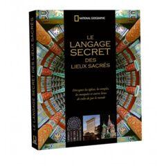 Livre le langage secret des lieux sacrés - 35.90€