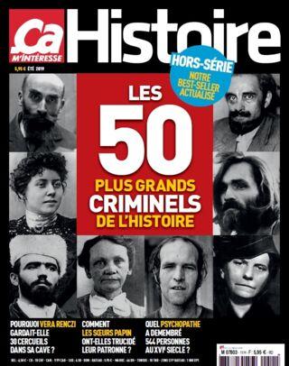 HCH n° 11 - Les 50 plus grands criminels de l'histoire