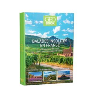 GEOBOOK - Balades insolites en France