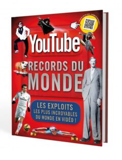 Livre Youtube - Records du monde - 22.95€