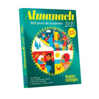 Almanach 2021 - Notre temps