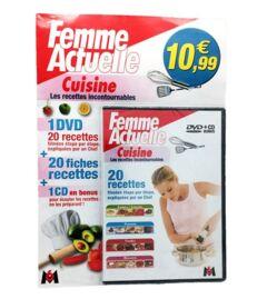 DVD + Fasicule - M6 & Femme actuelle - Cuisine recette incontournables