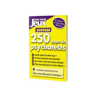 LIVRE - 250 PAGES DE PSYCHOTESTS - FA JEUX