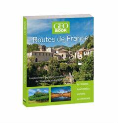 livre GEObook Routes de France 2017
