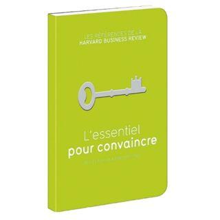 Livre L'esentiel pour convaincre - 19.90€