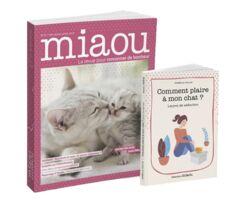 Miaou n°5 + Livre - comment plaire à son chat - 13,98€