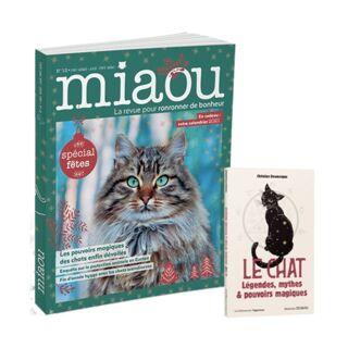 Miaou n°12 + OJ Le Chat - Légendes, mythes & pouvoirs magiques