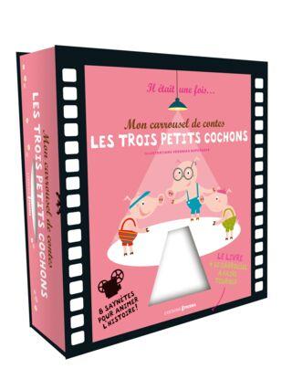 MON CARROUSSEL DE CONTES - LES 3 PETITS COCHONS (MAXIMILES)