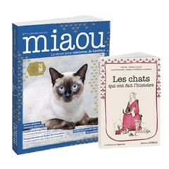Miaou n°7 - Librairie + Les chats qui ont fait l'histoire