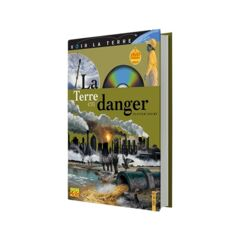 LIVRE + DVD  LA TERRE EN DANGER - 14.50€ CPT