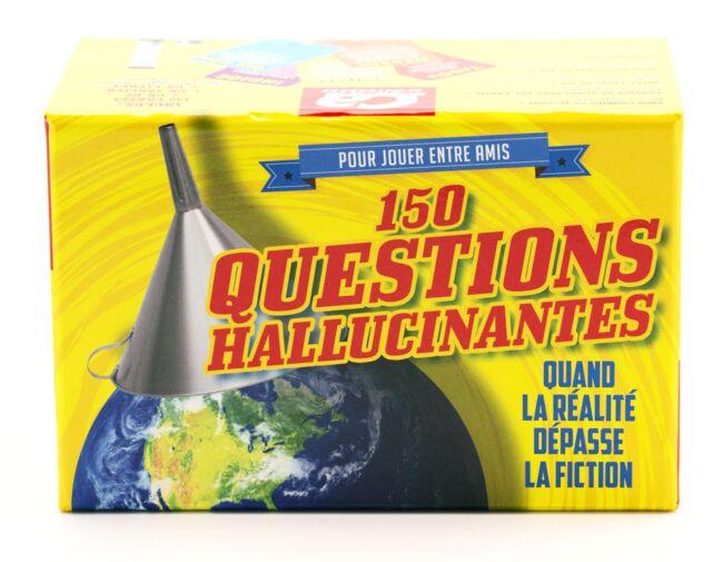 Boîte 150 questions hallucinantes