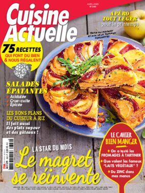 763549c5fae Achat Cuisine Actuelle n°341 8 avr. 2019 version numérique et papier ...