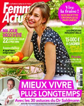 Achat femme actuelle n 1767 6 ao t 2018 version num rique prismashop - Prismashop cuisine actuelle ...