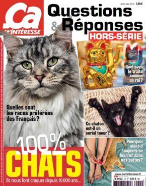 Hors série Ca m'intéresse 100% chats