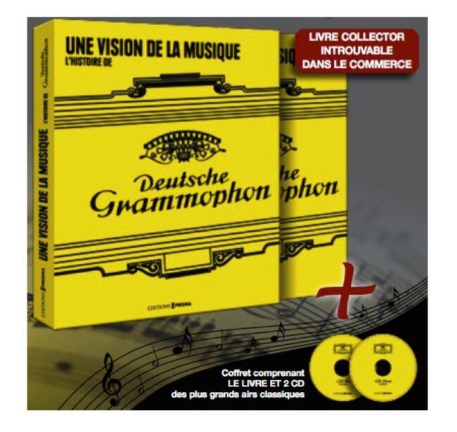 Coffret Deutsche Grammophon livre + 2 CD