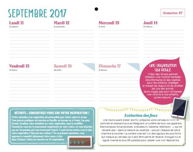 Le Mémoniak - L'organiseur familial 2017-2018