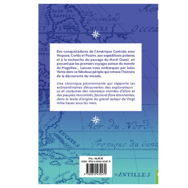 Récits d'aventure Jules Verne - Tome 2 Des conquistadores aux pôles