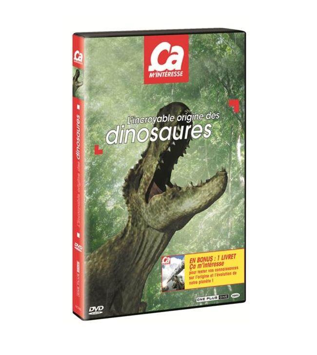 DVD CAM DINOSAURES