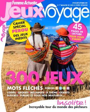 Femme Actuelle Jeux Voyage n°48