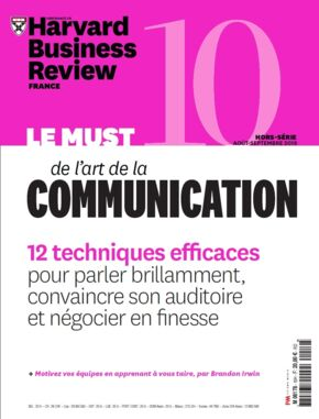 Hors Série Harvard Business Review n°10