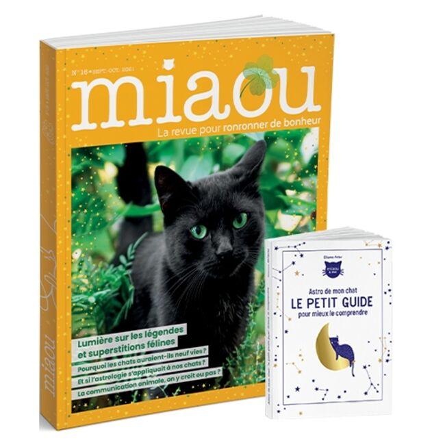 Miaou n°16 + OJ Astro de mon chat le petit guide pour mieux le comprendre