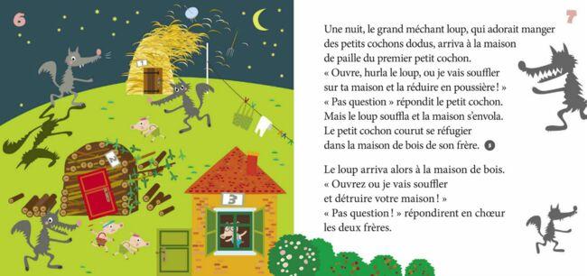 Mon carrousel de contes - Les trois petits cochons