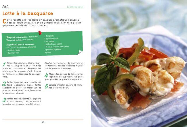 Cuisine santé recettes et conseils sans sel