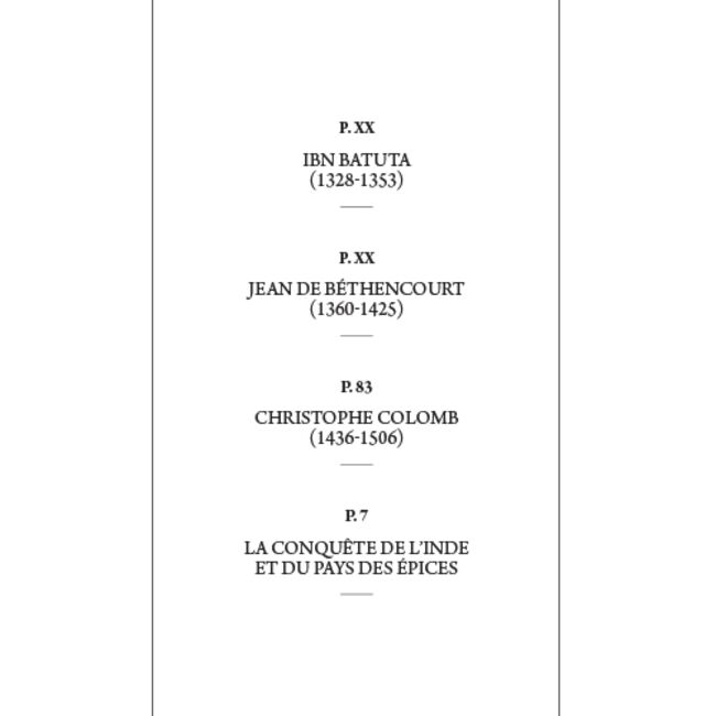 Sommaire - Récits d'aventure Jules Vernes - Tome 1 Des premiers explorateurs à Christophe Colomb
