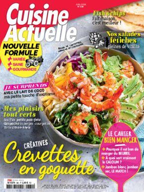 Achat cuisine actuelle n 330 14 mai 2018 version num rique et papier prismashop - Prismashop cuisine actuelle ...